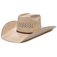 American Hat Co 20X 5525 Tri Color Straw Cowboy Hat 59b606ed0e94