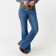 d404622a8d4 Cruel Denim Women s Hannah Trouser Flare Jeans