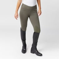 564485f1455bf9 Horze Active Fleece Lined Knee Patch Winter Tights