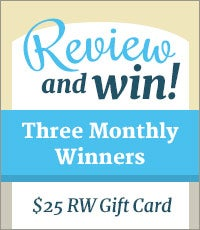 Write a Review. Win $25
