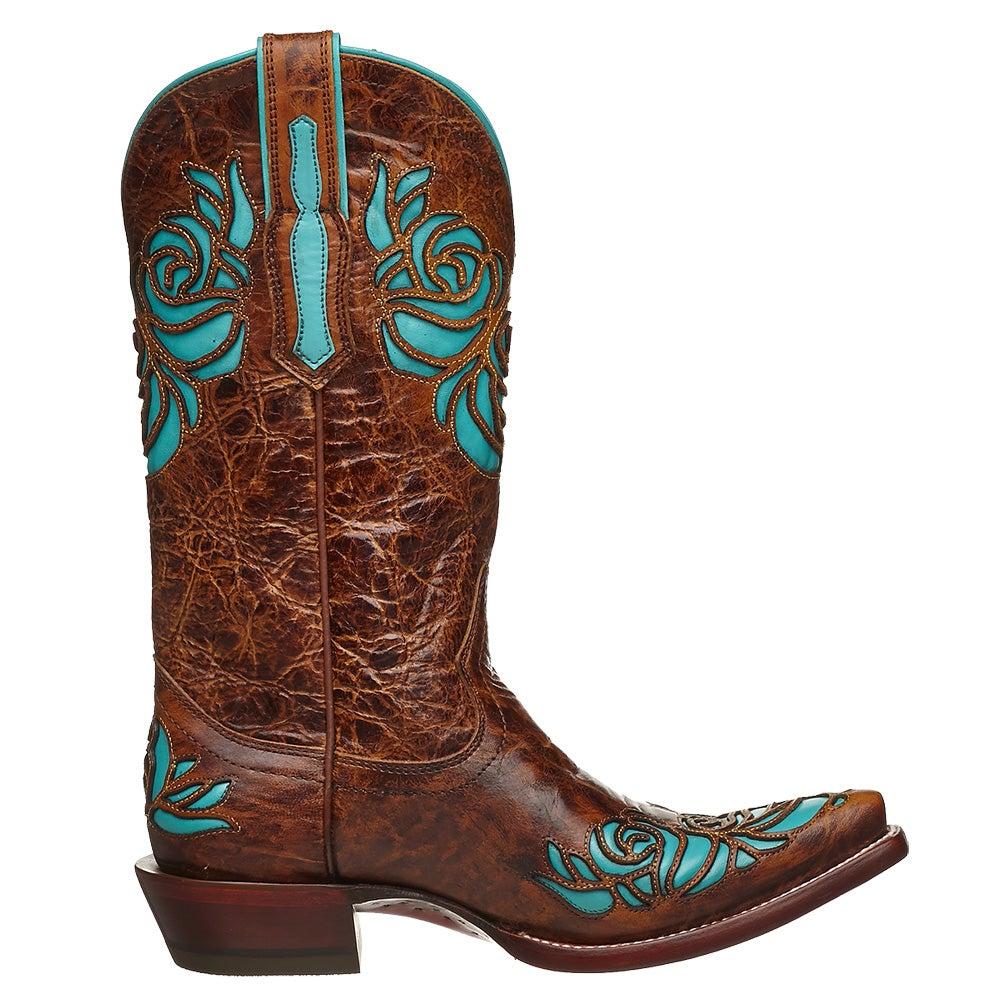 Ariat Dusty Rose X Toe Women's Western Cowboy Boots