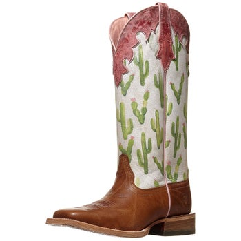 ae72c2d4ce2 Ariat Fonda Cactus Print Women's Western Cowboy Boots - Riding Warehouse