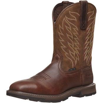 163d45c8623 Ariat Men's Groundbreaker Steel Toe Work Boots - Riding Warehouse