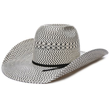 American Hat Co 20X 5510 CoolHand Luke Straw Cowboy Hat - Riding Warehouse 39010dc215f2