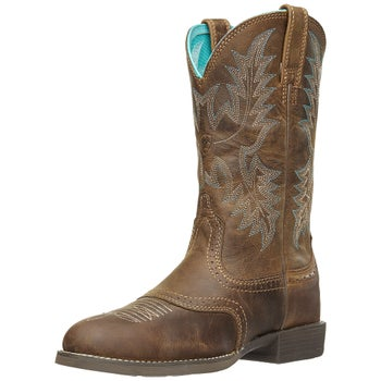 c5d57b7ce49 Ariat Women's Heritage Stockman Round Toe Cowboy Boots - Riding Warehouse