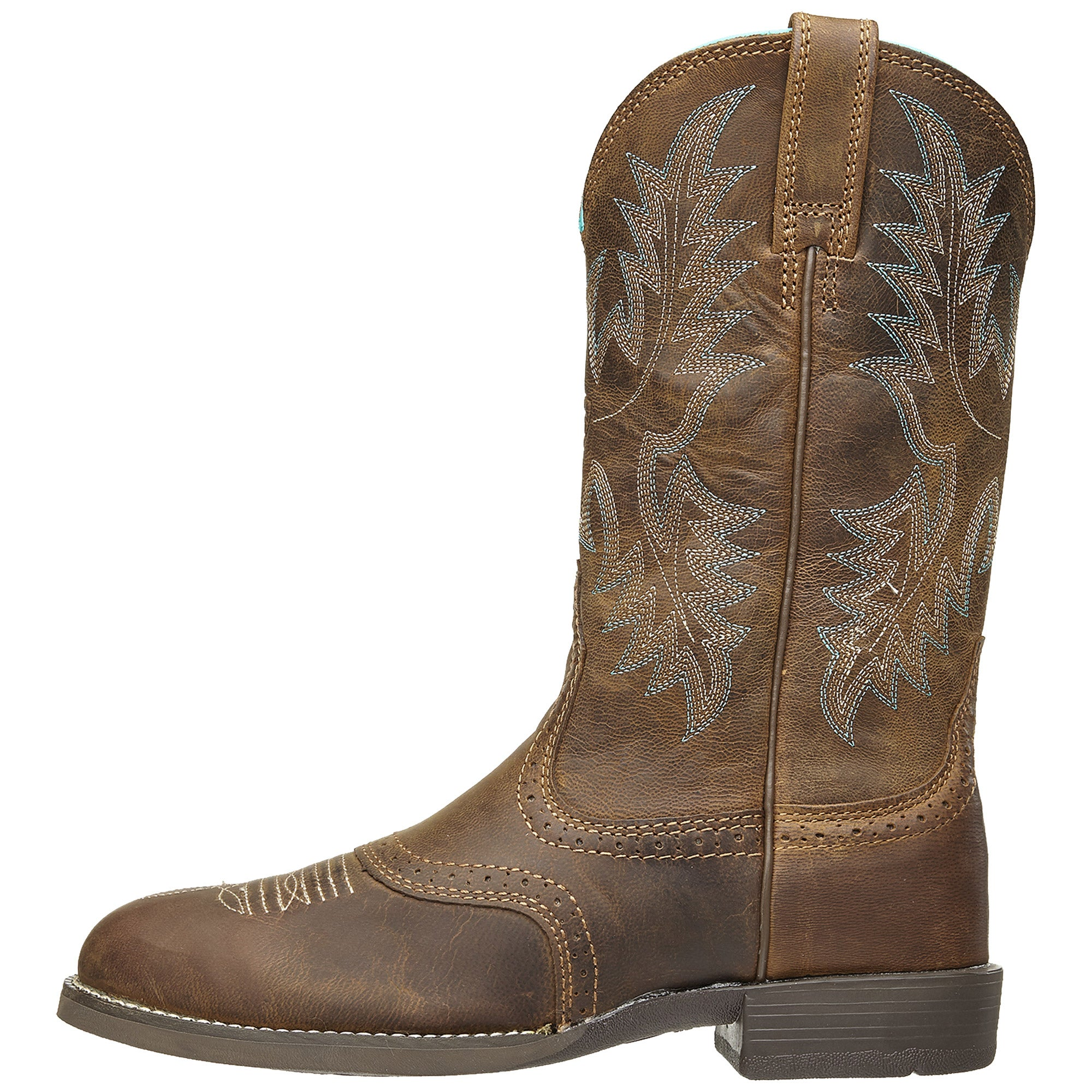 807e621f955 Ariat Women's Heritage Stockman Round Toe Cowboy Boots - Riding ...