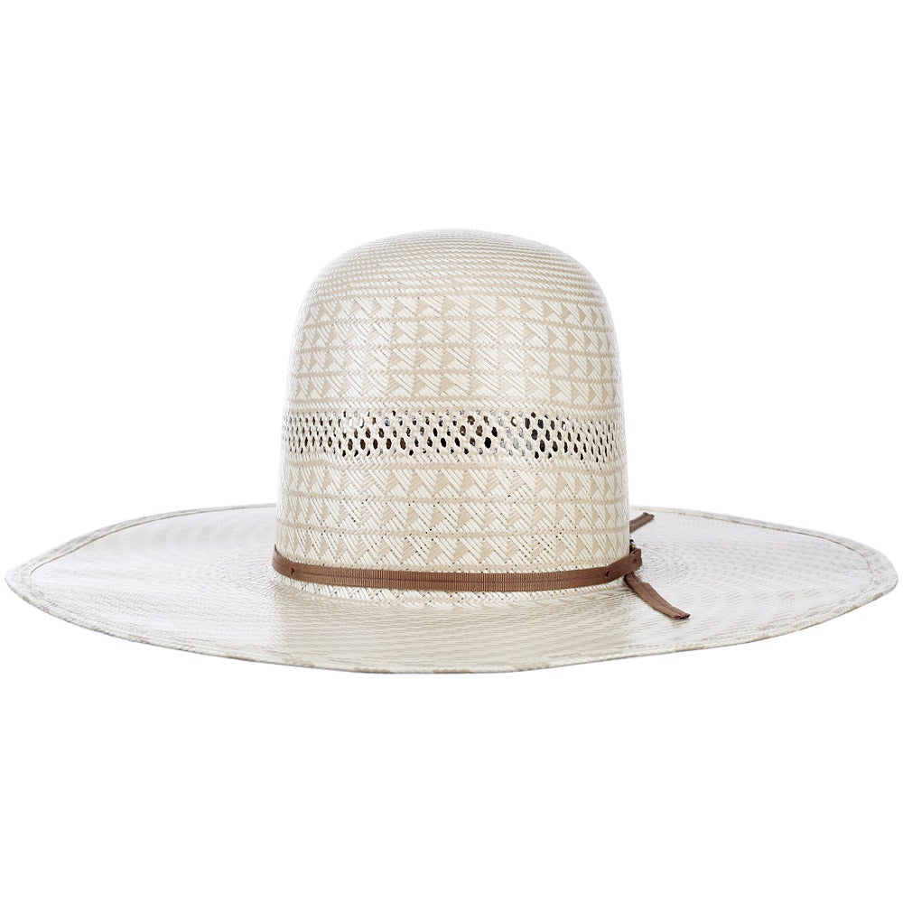 1b9982ef American Hat Co 6100 Open Unshaped Straw Cowboy Hat - Riding Warehouse