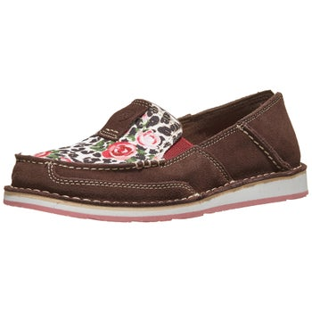 b92a7f9c Ariat Western Cruiser Women's Shoes Leopard/Roses - Riding Warehouse