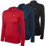 Ariat Womens Cadence Merino Wool 1/4 Zip Pullover Top