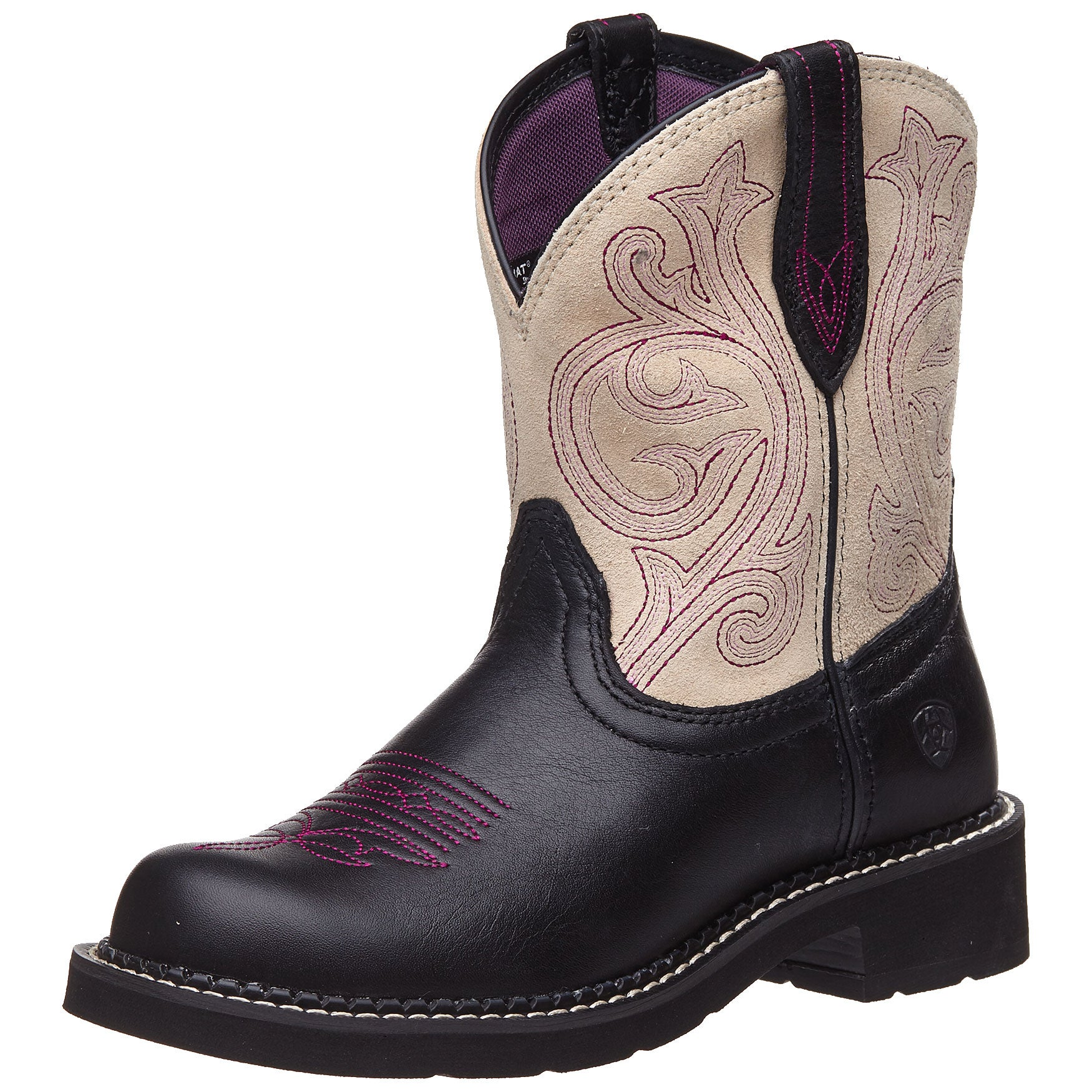 a6a1048069c Ariat Fatbaby Heritage Black Women's Cowboy Boots - Riding Warehouse
