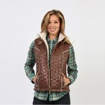 Adiktd Reversible Quilted Polyfill Womens Vest