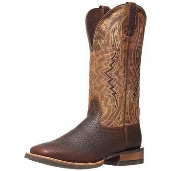1cd35cde90a Ariat Relentless Short Round Whisky Men's Cowboy Boots - Riding ...