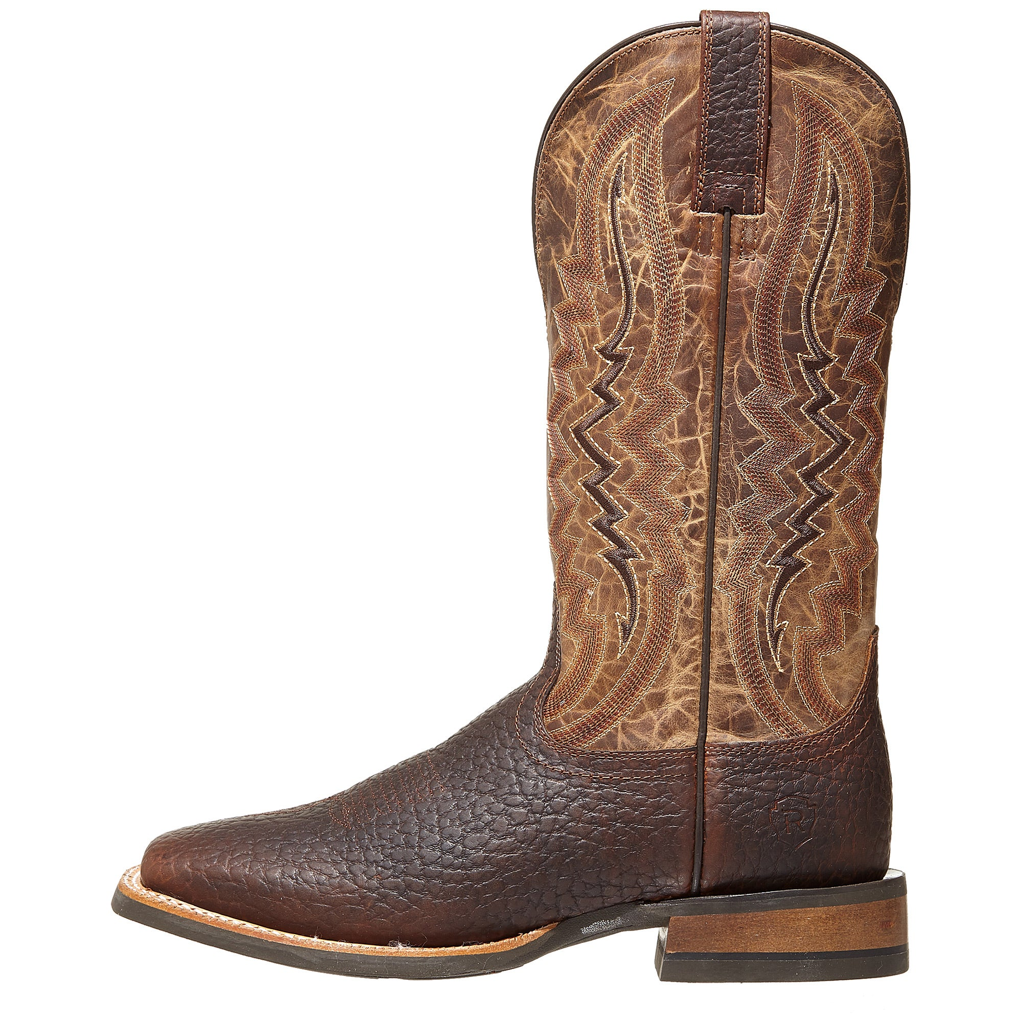 Ariat Relentless Short Round Whisky Men S Cowboy Boots