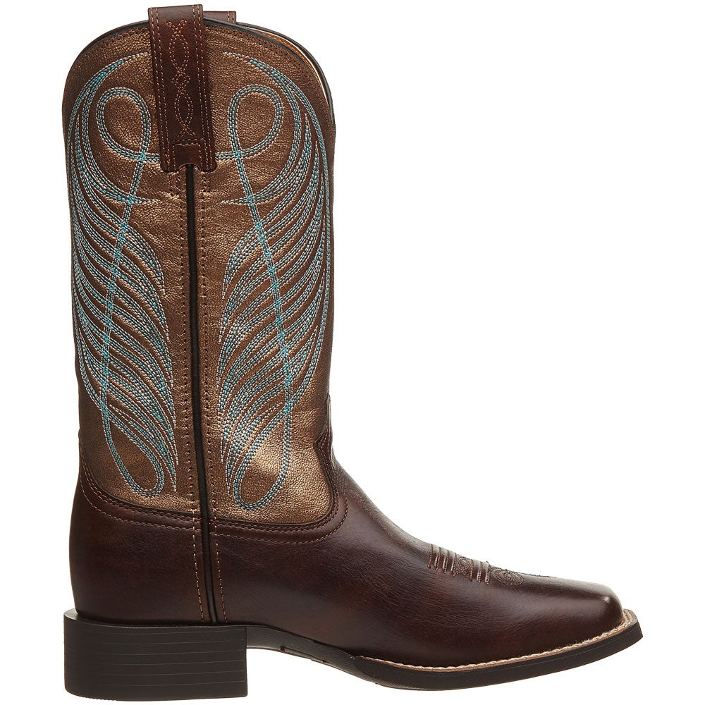 ariat s up wide square toe cowboy boots