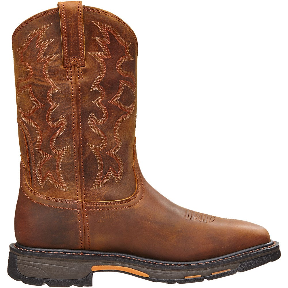 Ariat Men S Workhog Wide Square Toe Work Boots Riding
