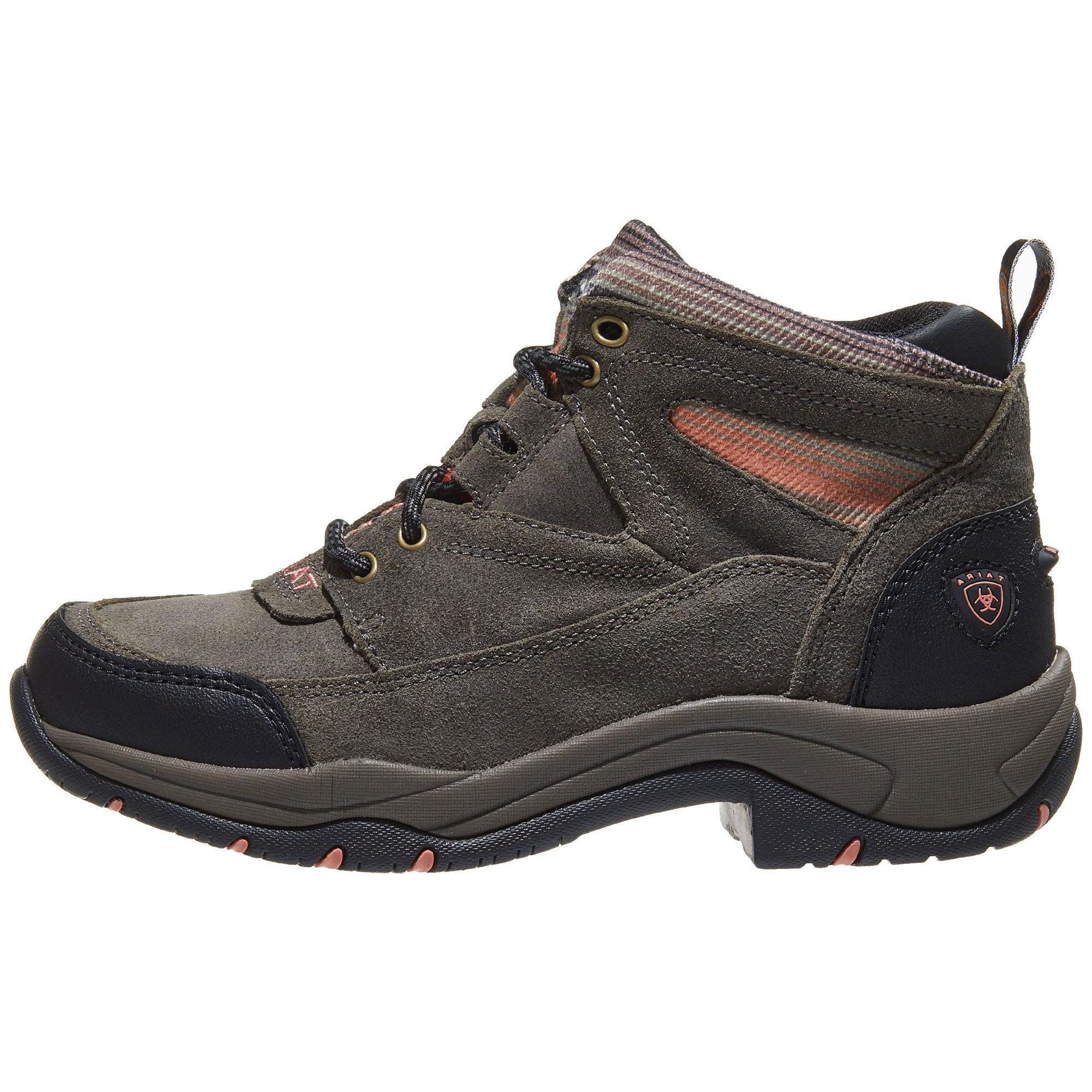 Dusk Grey: Ariat Terrain Endurance Serape Dusk Grey Women's Boots