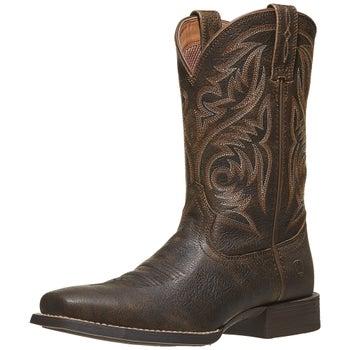 09da9c88e66 Ariat Sport Herdsman Brooklyn Brown Men's Cowboy Boots - Riding ...