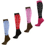 Ariat Western Cowboy Boot Knee High Tall Boot Socks