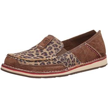 89419c80e26 Ariat Western Cruiser Women s Shoes Cheetah Brown Print - Riding Warehouse