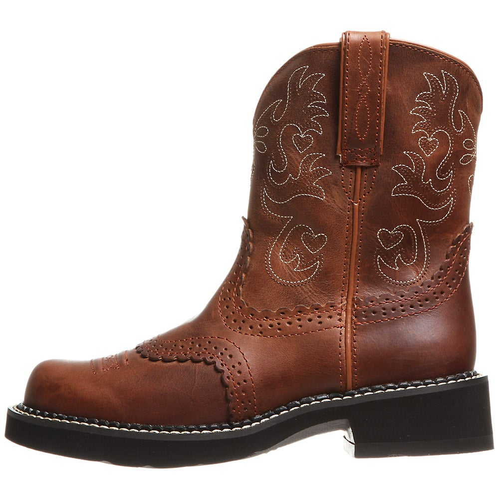 Ariat Fatbaby Saddle Russet Rebel Women's Cowboy Boots
