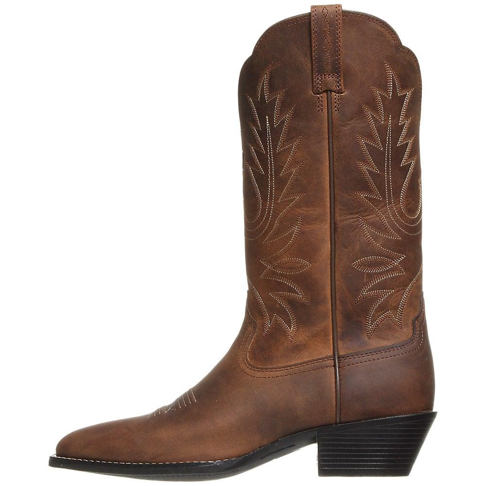 Ariat Heritage Western Rtoe Brown Women S Cowboy Boots