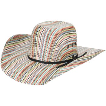 42ce85d469a22 Ariat Youth Multicolored Straw Cowboy Hat - Riding Warehouse