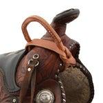 Berlin Custom Hermann Oak Leather Nightlatch Grab Strap