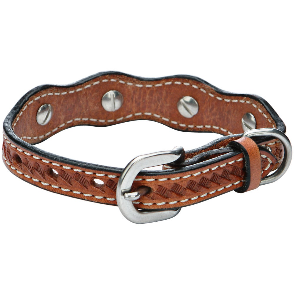 Western Dog Collars With Conchos
