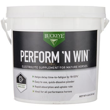 Buckeye Nutrition Perform 'n Win Electrolyte Powder 4lb
