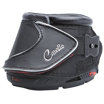 Cavallo Black Sport Hoof Boots Pair - Slim e665d15fc8
