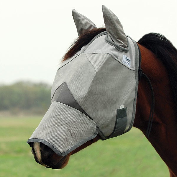 Cashel Crusader Horse Fly Mask Long Nose with Ears