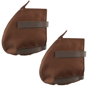 Cashel Cozy Toes Stirrup Covers Western Brown