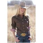 Cinch Womens Cotton Daisy Print Shirt-Deal!