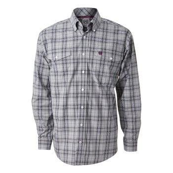 4ce47a4f9f Cinch Men s Double Pocket Long Sleeved Western Shirt - Riding Warehouse