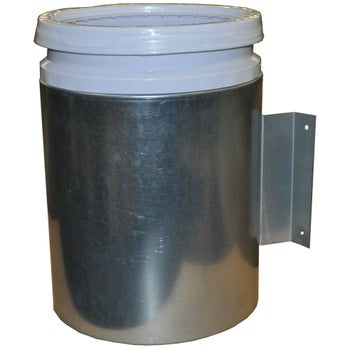 Country Mfg 5 Gallon Steel Thermo Horse Water Bucket