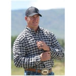 Cinch Mens Arenaflex Plaid Western Shirt-Deal!