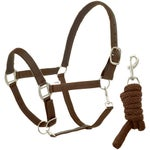 Centaur Solid Nylon Halter & Leadrope-DEAL!
