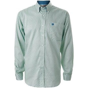 8cfdf9d36d8b Cinch Men's Cotton/Tencel Long Sleeved Western Shirt - Riding Warehouse
