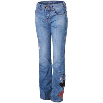 2666a6258 Cowgirl Tuff Girl's Youth Wild & Wooly Extreme Jeans - Riding Warehouse
