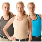 Cheata Equestrian Trotter Compression Bra Tank Top
