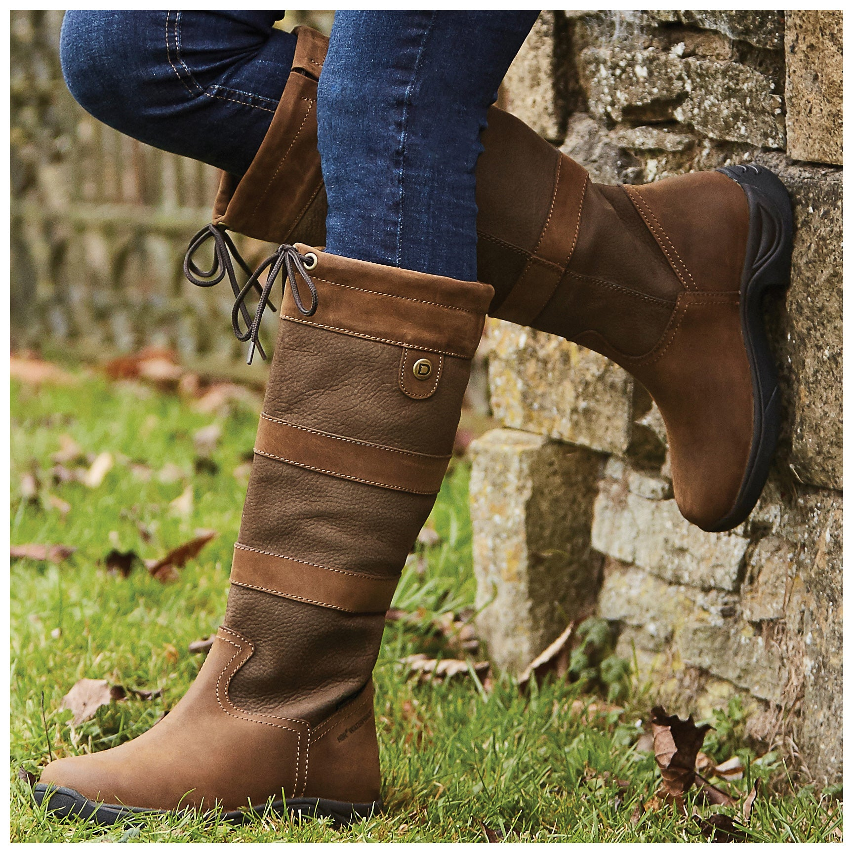 2f99c50e752 Dublin River III Women's Tall Boots-Chocolate - Riding Warehouse