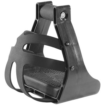 EZ Ride Nylon Safety Caged Endurance Stirrups Pair