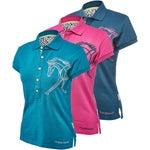 Horseware Womens Flamboro Embroidered Polo Shirt/Top