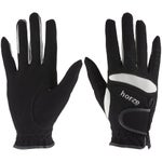 Horze Lyon Stretchy Synthetic Leather Riding Gloves