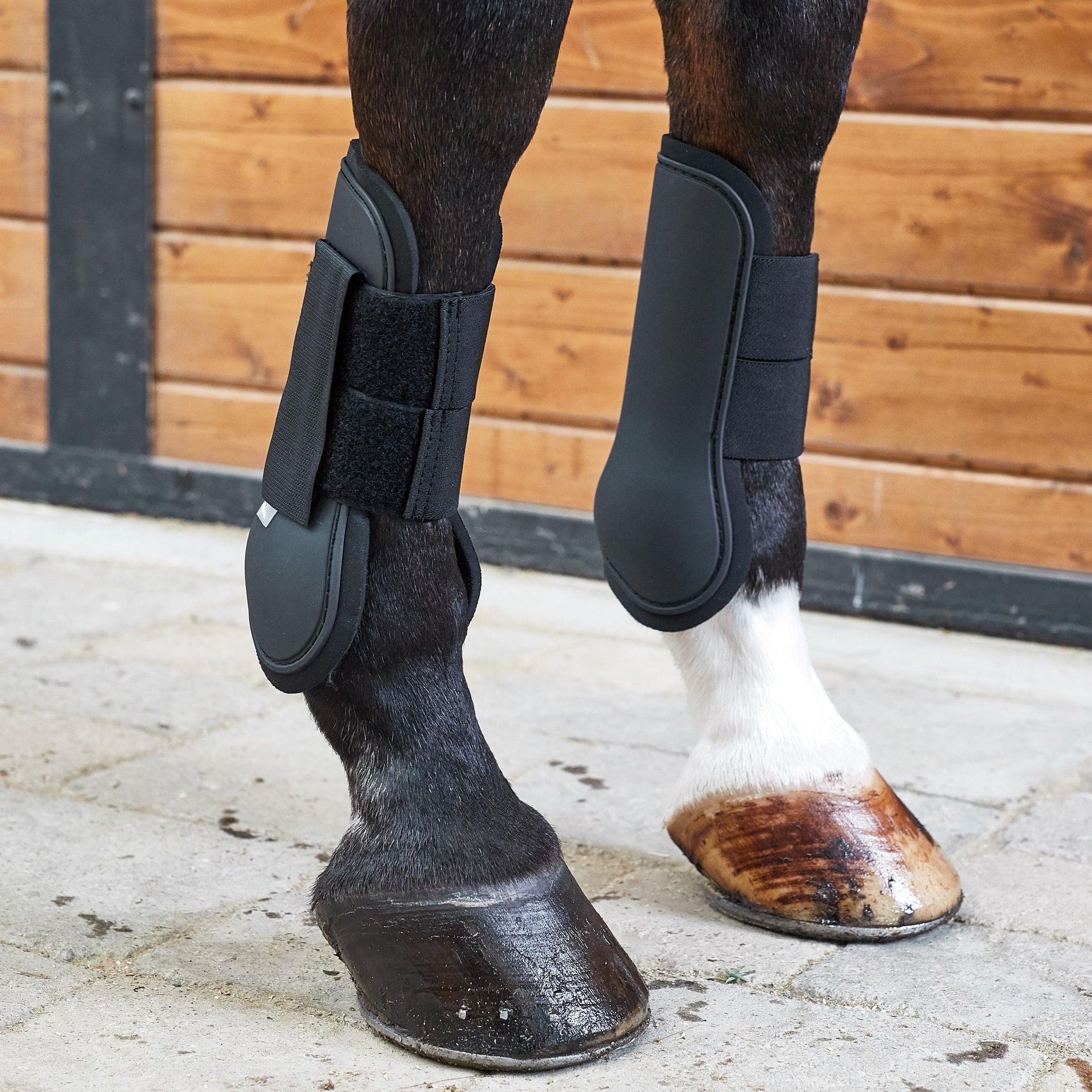 Horze Open Front Jumping Tendon Horse Boots