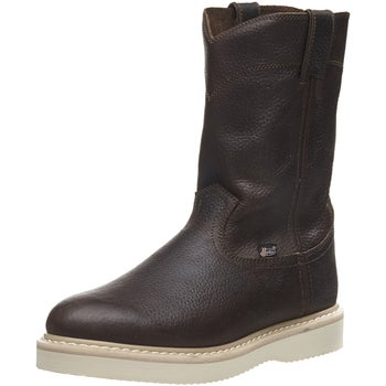 8d91936b456 Justin Men's Axe Tan Light Duty Work Boots - Riding Warehouse