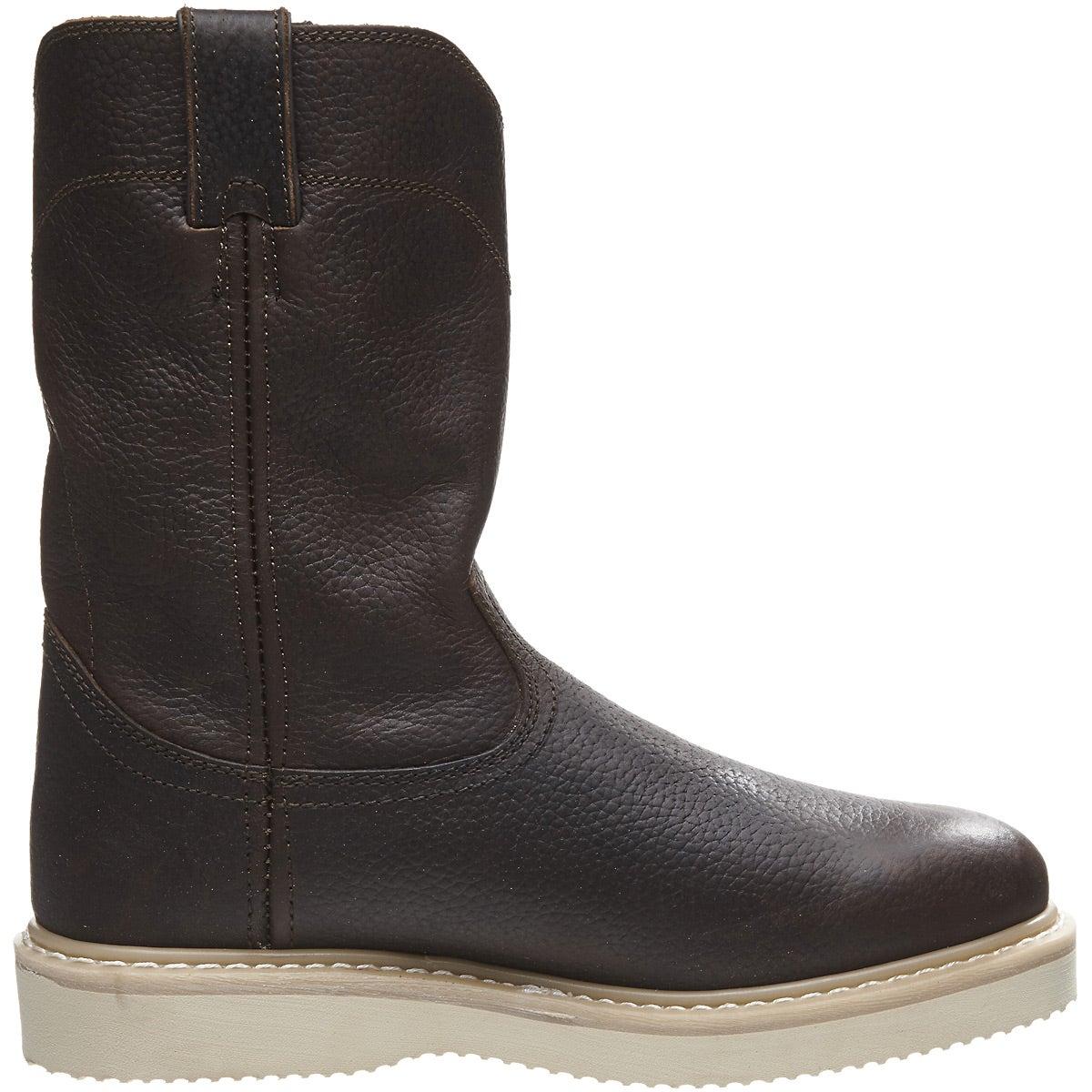 Light Work Mens Boots: Justin Men's Axe Tan Light Duty Work Boots