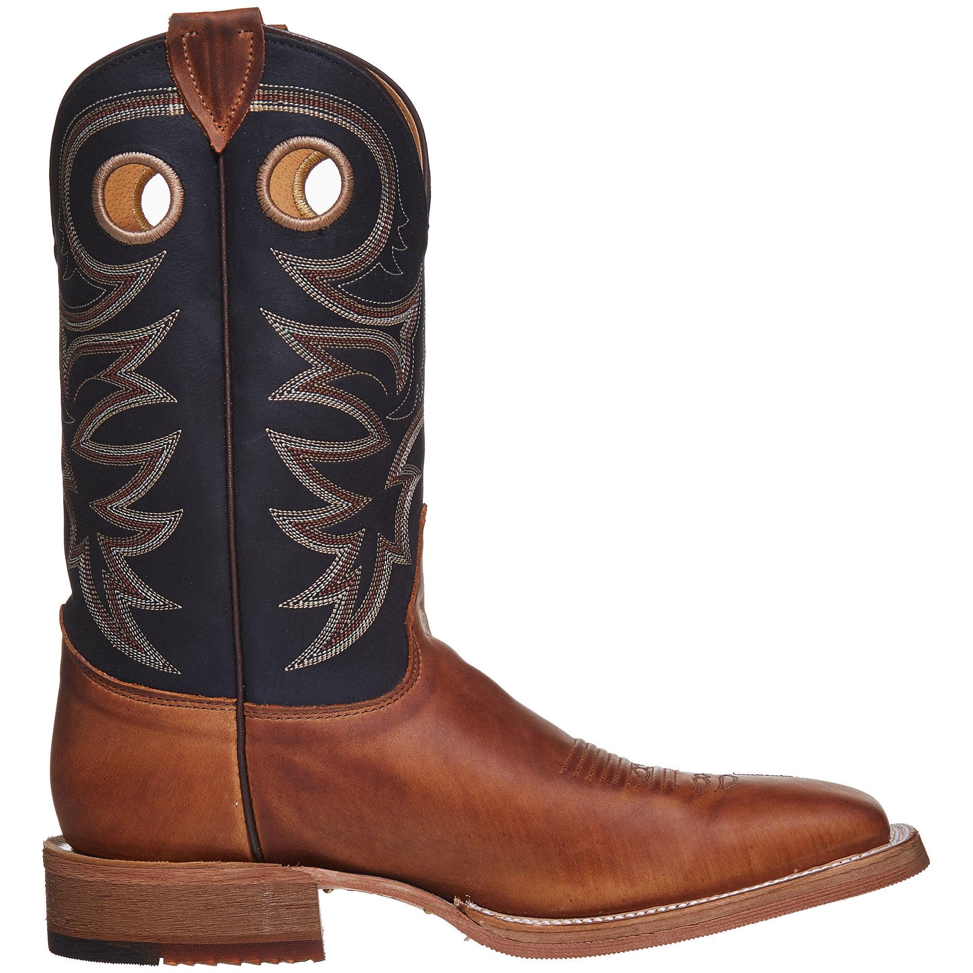 Justin Bent Rail Tobacco Cowhide Men S Cowboy Boots
