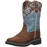 Justin Gypsy Floral Womens Western Cowboy Boots
