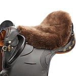 JMS Sheepskin Australian Saddle Cushion/Cover